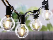 Catena Di Luci LED Con 27 Lampadine Led G40 Luci