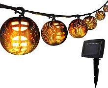 Catena Luminosa Halloween, Luci Stringa 8 Palla di