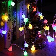 Catena Luminosa LED 5M, Filo di 50 Lampadine,