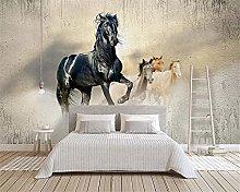Cavalli al galoppo Decalcomanie da Muro di Piante