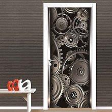 CBWRAW 3D Interne Adesivi Per Porte Arte Degli