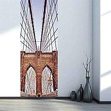 CBWRAW 3D Interne Adesivi Per Porte Paesaggio