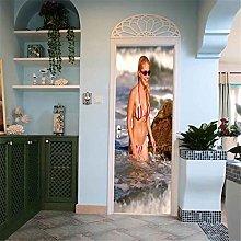 CBWRAW 3D Interne Adesivi per Porte Poster di Moda