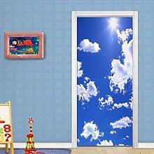 CBWRAW Porta Murale PVC Poster Cielo Blu E