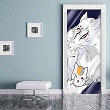 CBWRAW Porta Murale PVC Poster Gattino Animale