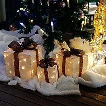 CCLIFE Set di 3 luci a LED Illuminazione