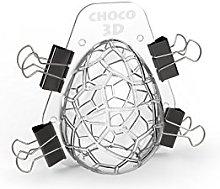 Cecoa – Stampo per uova di Pasqua in plastica