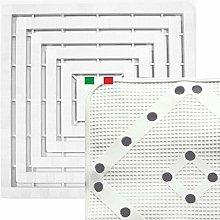 CENNI 72527 Set Pedana Doccia 60 x 60 in Plastica