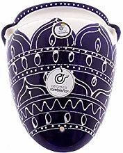 Ceramic Rambalena | Vaso da appendere con orza |