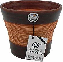 Ceramica rambalena | Vasi di terracotta rossa |
