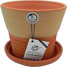 Ceramica rambilena | Vasi in terracotta rossa |
