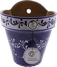 Ceramica rambilena | Vaso da appendere | Vaso da