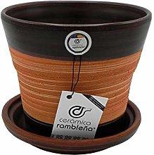 Ceramica rampicante | Vaso di terracotta rossa |