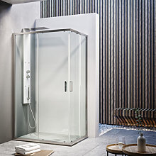 Ceramicstore - Box doccia quadrato scorrevole