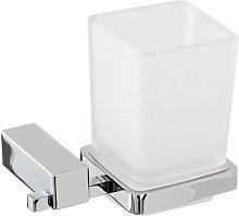 Ceramicstore - Portaspazzolini Unica cromo vetro