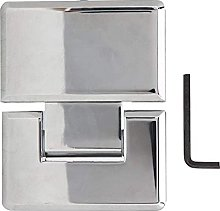 Cerniera cerniera in lega di zinco lucidata 180 °