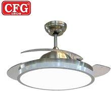 CFG - Ventilatore a soffitto con pale a scomparsa
