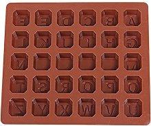 CHAOCHAO 26 Lettera Forma Silicone Stampo al