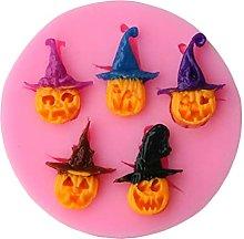 CHAOCHAO 2pcs Halloween Pumpkin Strega forma