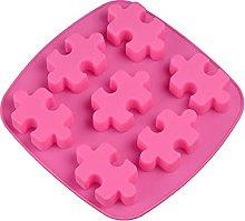 CHAOCHAO Forma Puzzle Silicone Cubetto di Ghiaccio