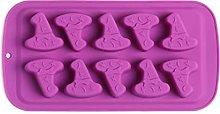 CHAOCHAO Halloween Stampo in silicone 10 cavità