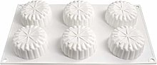 CHAOCHAO Turno Mousse stampo in silicone Mooncake