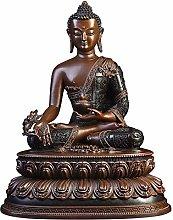 CHEIRS Buddha Scultura Carattere Statua Seduto,