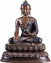 CHEIRS Statua Buddha Seduto Decorazioni, Scultura