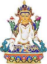 CHEIRS Statua del Buddha Bodhisattva Tibetano,