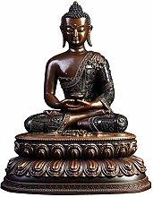 CHEIRS Statua di Buddha Meditazione per La Casa,