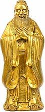 CHEIRS Statua di figurina Scultura Confucio,