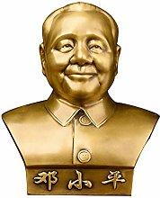 CHEIRS Statue di Busti in Rame Puro, Statua di
