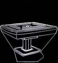 CHENCHAOK Lampada da comodino 3D da tavolo Mahjong