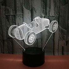 CHENCHAOK Luce notturna 3D da corsa Luce da