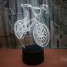 CHENCHAOK Luce notturna 3D per mountain bike Luce