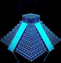CHENCHAOK Luce notturna per scale 3D Luce da