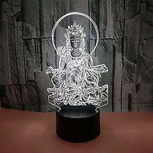 CHENCHAOK Personaggio Luce notturna 3D Luce da