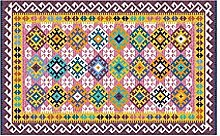 CHENCHAOK Tappeto stampato geometrico, tappeto