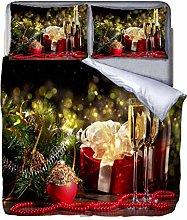 chenyike Copripiumino Matrimoniale 220x240 cm