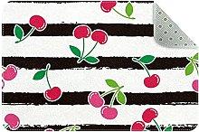 Cherry strisce, Zerbini ingresso porta