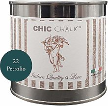 Chic Chalk - 500 ml PETROLIO - Pittura gessosa