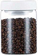 CHICAI Barattolo di caffè in vetro, barattolo di