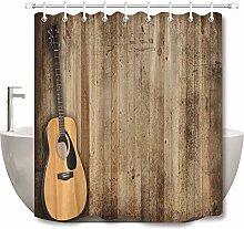 Chitarra bordo semplice tenda doccia tenda bagno