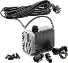 CHJ-1500-10 Pompa Laghetto 1500l/h 25W come filtro