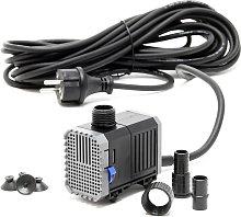 CHJ-500-10 Pompa Laghetto 500l/h 7W, come filtro o