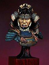 CHOUDOUFU Statua Gingillo Regalo Busto di Samurai