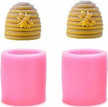 Chougui - Stampo per candele in silicone per