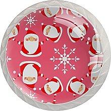 Christmas Santa Claus (4 pezzi) armadio da cucina