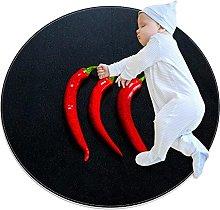 Chuangxin, tappeto circolare per cucina, camera da