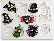 Chutoral, stampi per cioccolatini di Halloween,